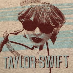 Tops - Taylor Swift Gray Tee Shirt